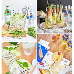 Client Work - Schweppes. Recipe development, styling and photography.