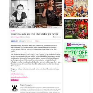 October 2014 - GRAM Magazine