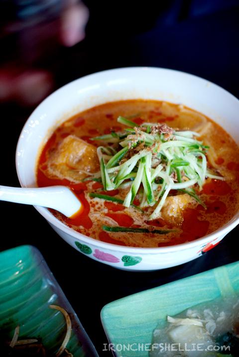 Chillipadi Mamak - Curry Laksa