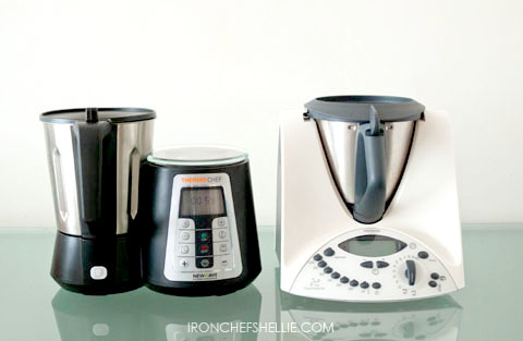 Thermochef vs thermomix iron chef shellie for Cooking chef vs thermomix