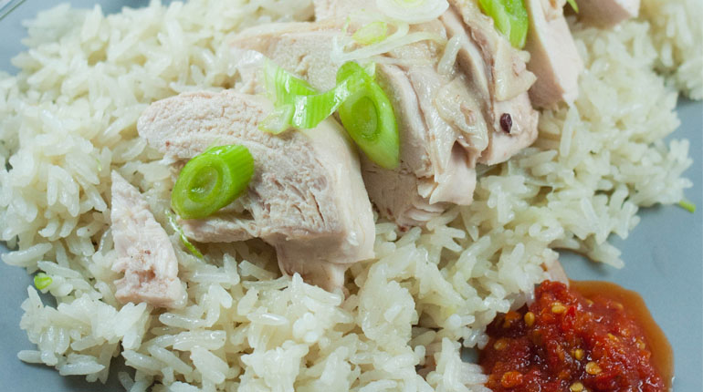 Hainanese Chicken Rice | thermocurious