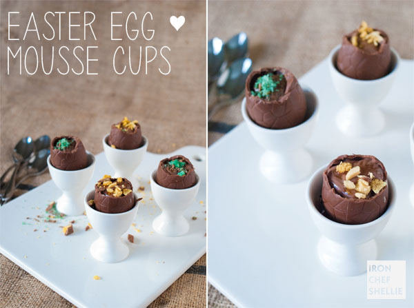 Easter Egg Mousse Cups