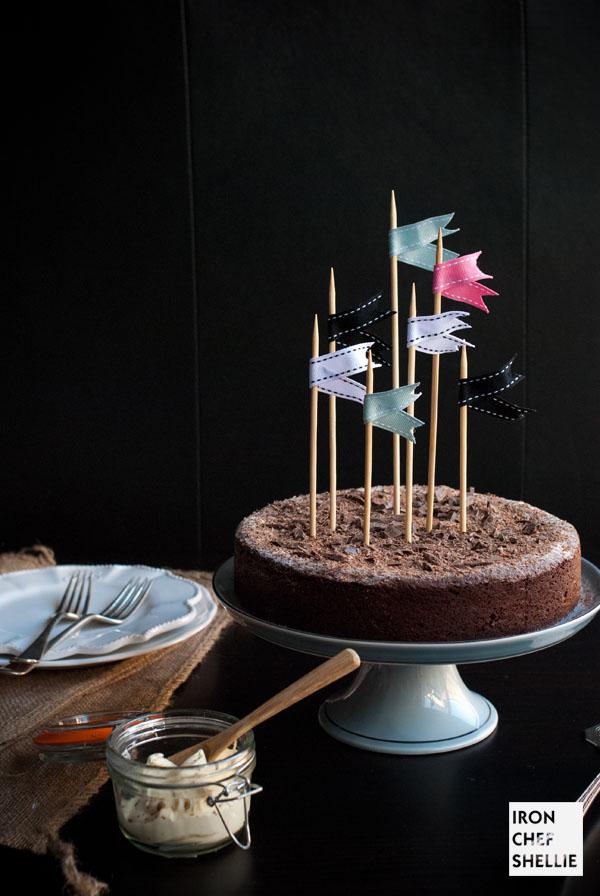 Turning 28 Chocolate Cake