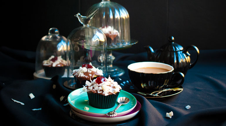 Lamington Cupcakes - Feature Image