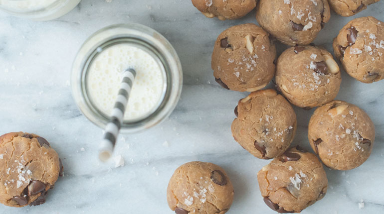 Chocolate Chickpea Cookies - FEATURE IMAGE