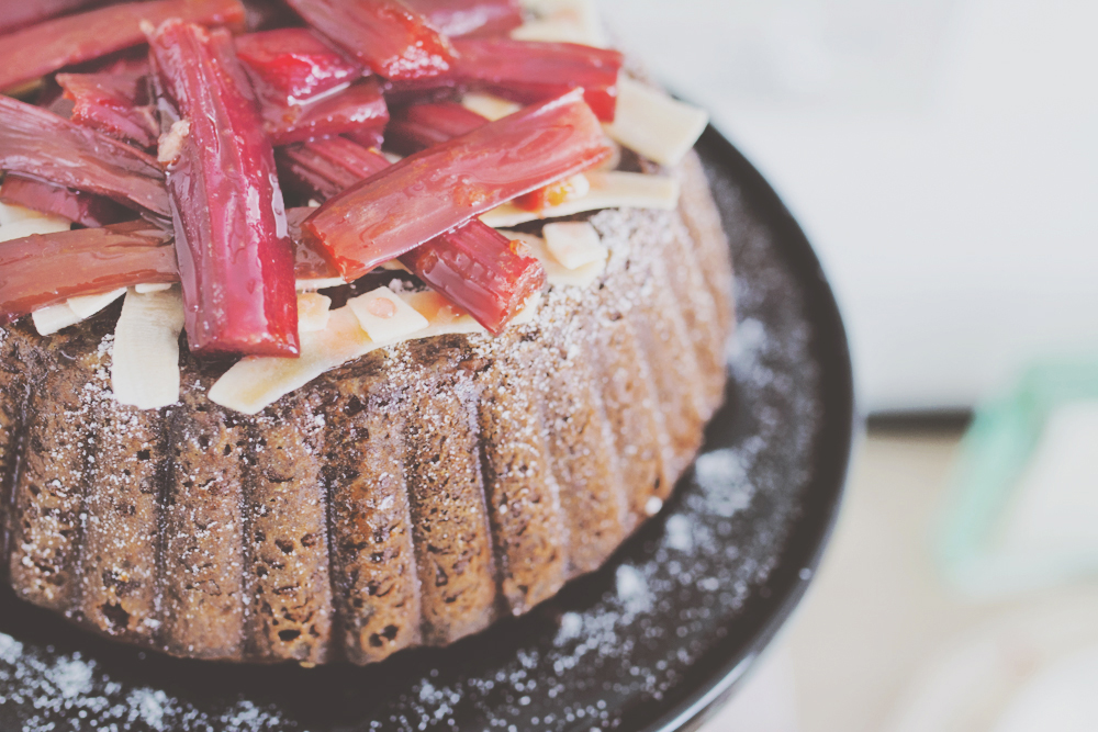 Coconut Cake with Rhubab_FEATURE IMAGE