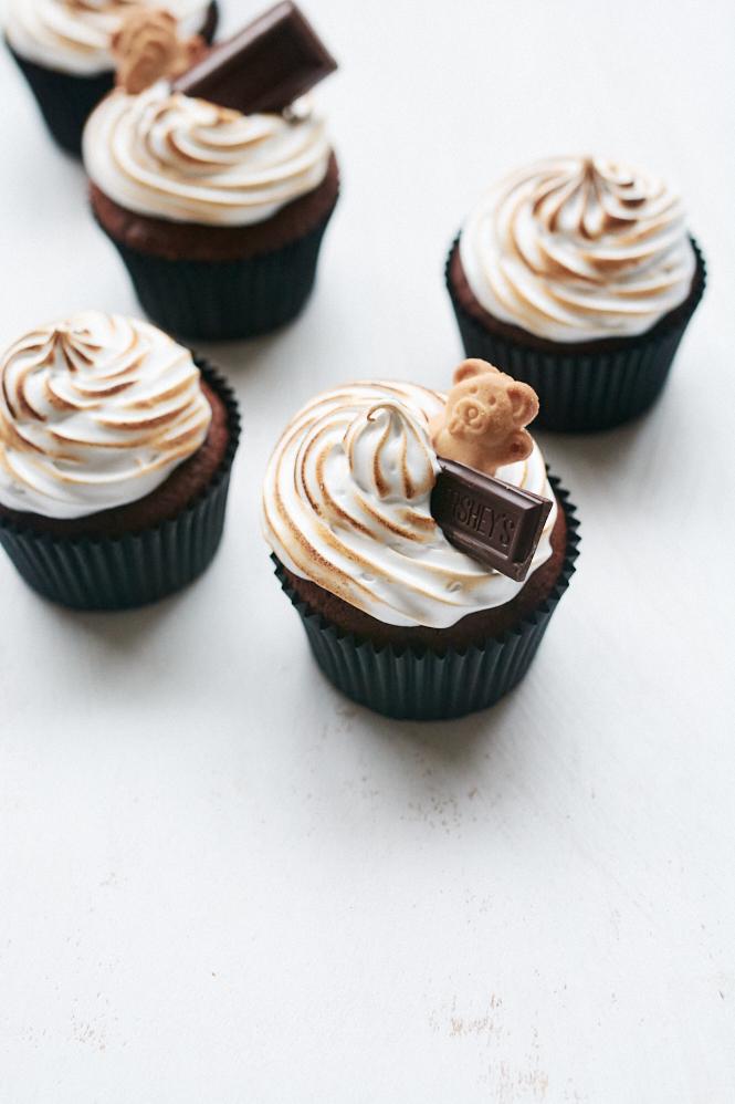 Smore Cupcakes