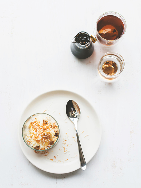 Coconut Quinoa Porridge with Palm Sugar