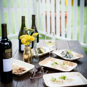 Festival food matched with Brown Brothers wines