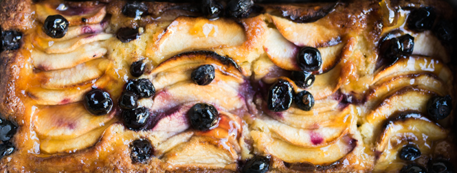 Apple and Blueberry Loaf Primrose Bakery