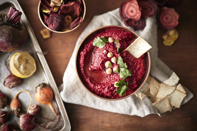 Nature's Way - Beetroot Hummus