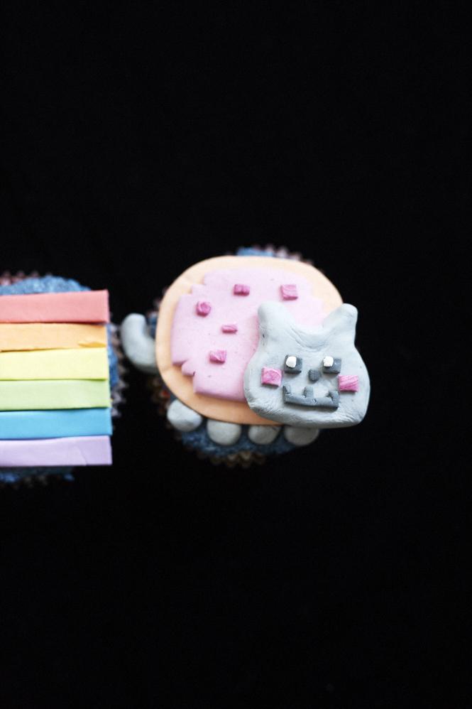 Nyan Cat Cupcakes