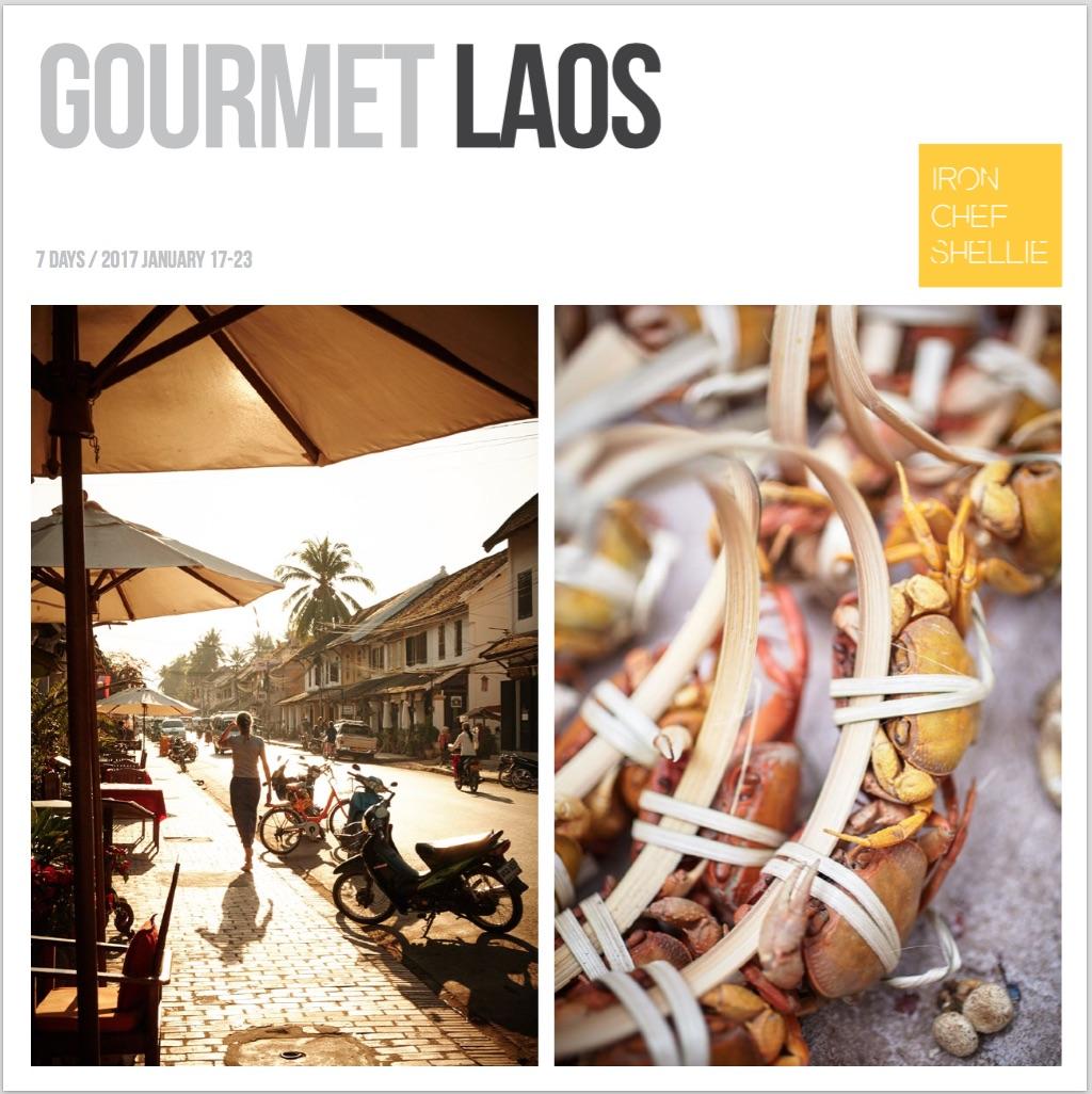Gourmet Laos 2017