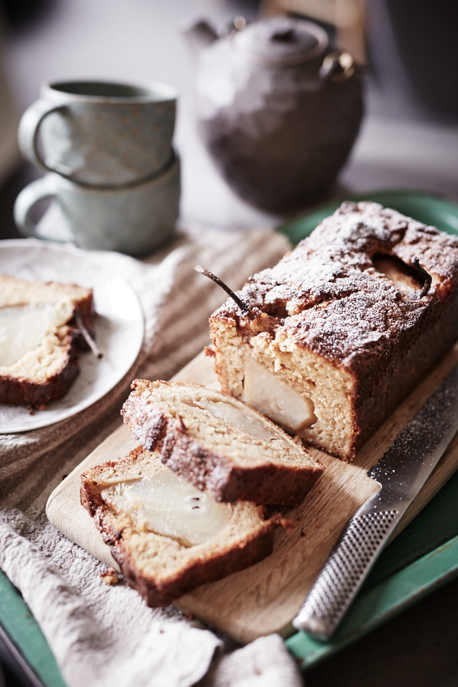 Chai Poached Pear Loaf