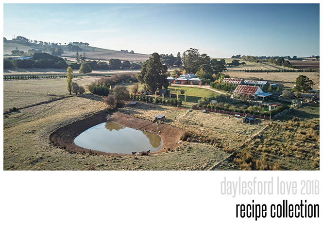 Daylesford 2018 Cookbook