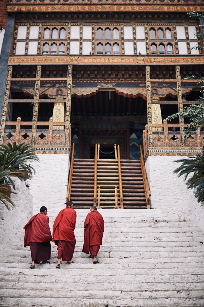 Bhutan - Punakha Dzong BHUT5731